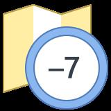 Timezone -7 icon