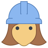 Female Worker icon