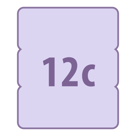 12C icon