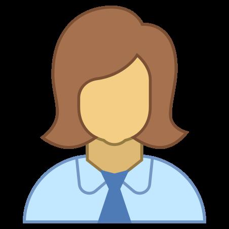 Woman Profile icon in Office L