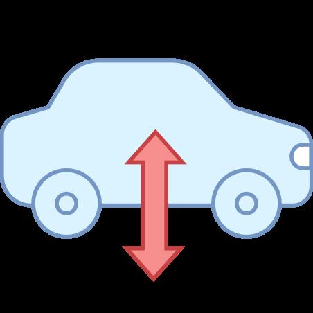 Air Suspension Warning icon