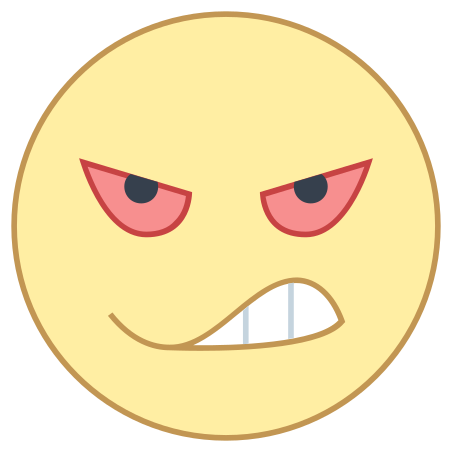 Angry icon in Office L