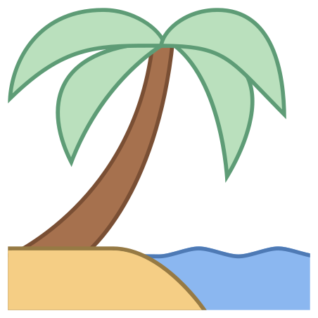 바닷가 icon