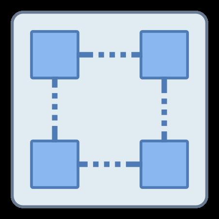 블록 체인 기술 icon