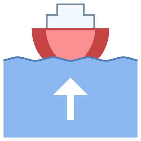Boat Leaving Port icon