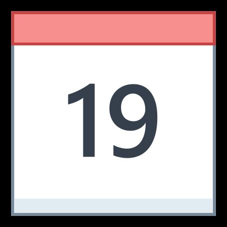 달력 (19) icon in Office L
