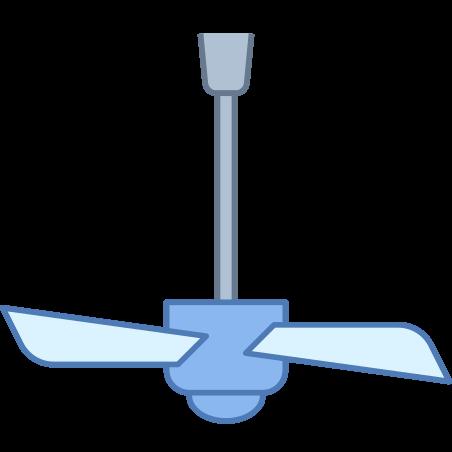 Ceiling Fan off icon