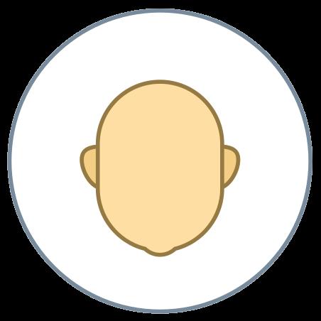 Circled User Neutral Skin Type 3 icon