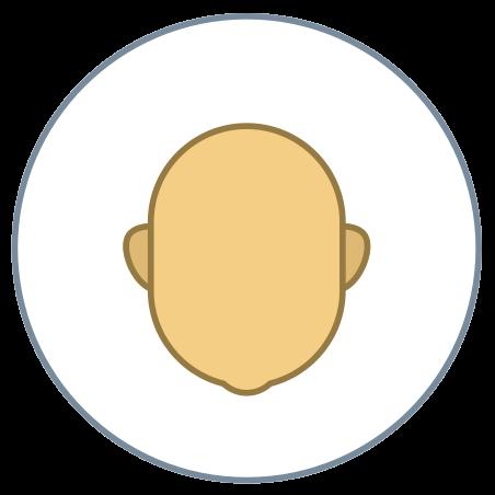 Circled User Neutral Skin Type 4 icon