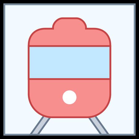 도시 철도 역 icon