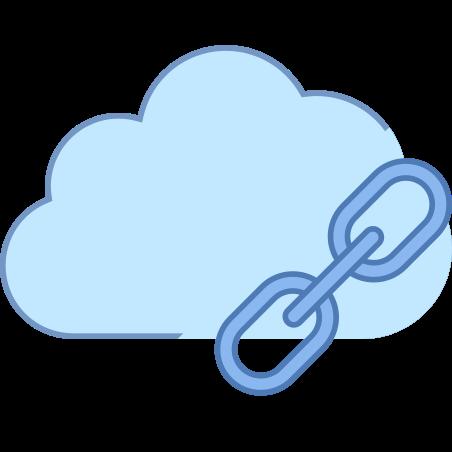 클라우드 링크 icon