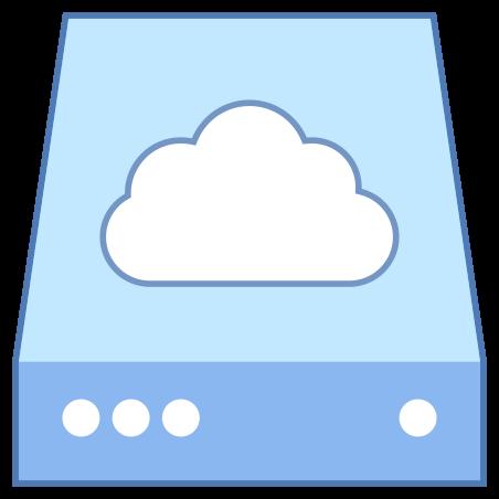클라우드 스토리지 icon