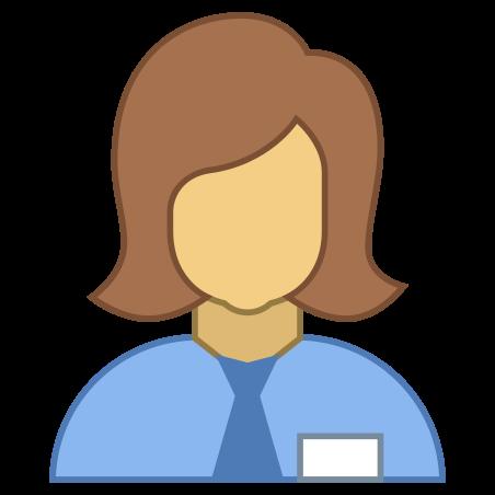 Collaborator Female icon in Office L
