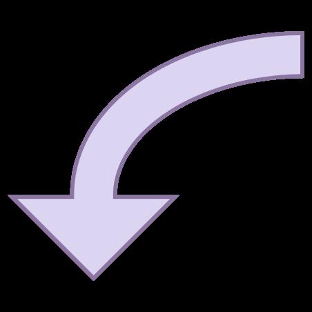 Down 3 icon