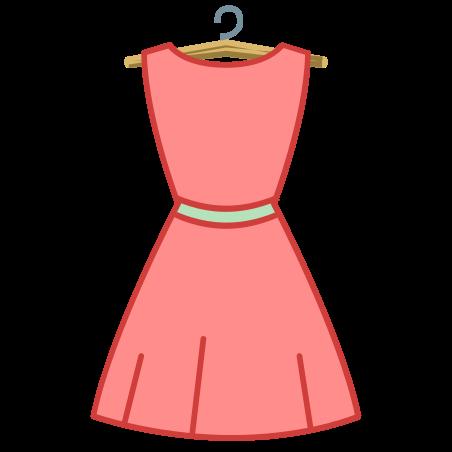 드레스 위로보기 icon
