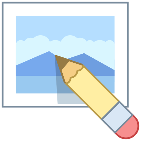 Edit Image icon in Office L