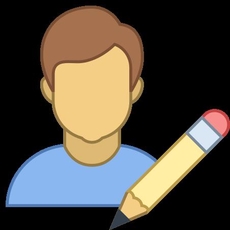 Редактировать мужчину-пользователя icon