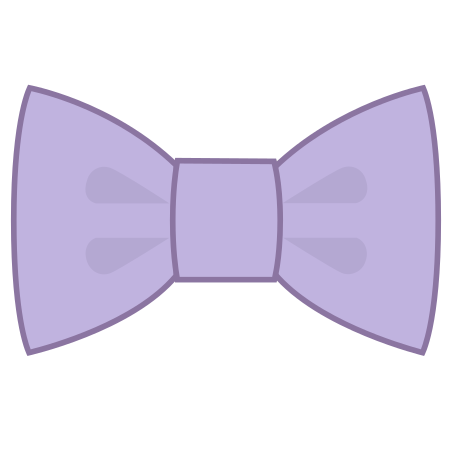 Filled Bow Tie icon in Office L