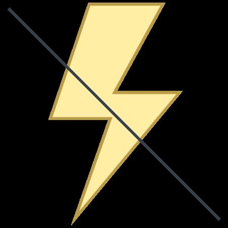 Flash Off icon