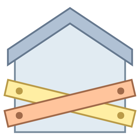 Foreclosure icon