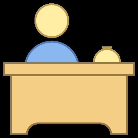 프런트 데스크 icon