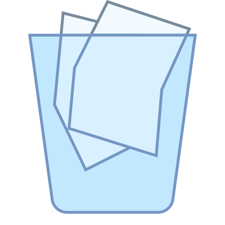 전체 휴지통 icon