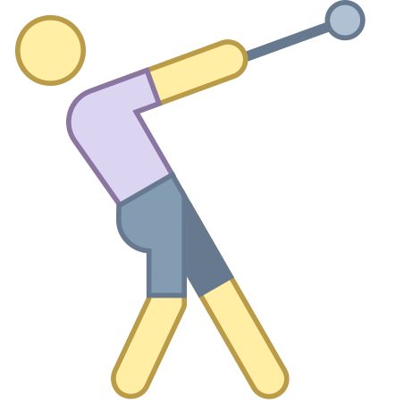 Hammer Throw icon in Office L