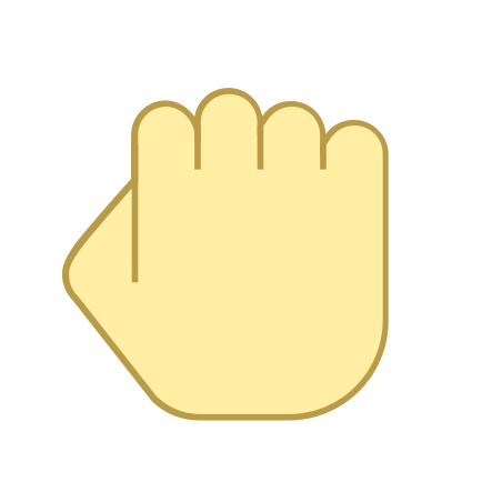 Hand Rock icon in Office L