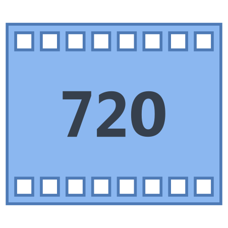 HD 720p icon in Office L