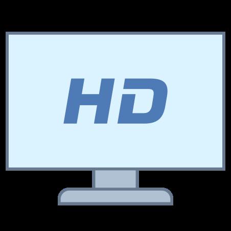 HDTV icon in Office L