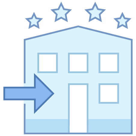 Hotel Check In icon