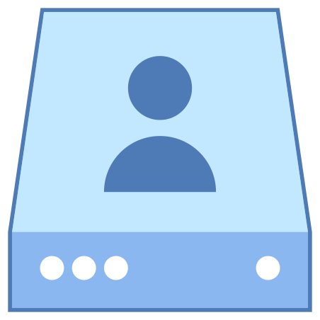 Individual Server Icon - Free Download, PNG and Vector