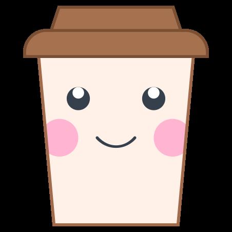 Kawaii-Kaffee icon