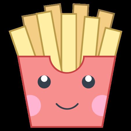 Kawaii French Fries icon
