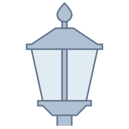 Lamp Post Off icon