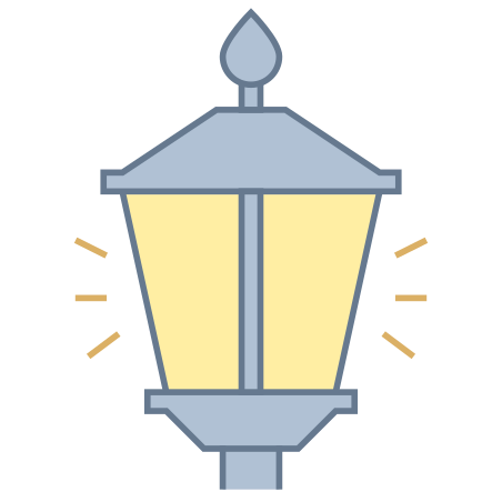 Lamp Post On icon
