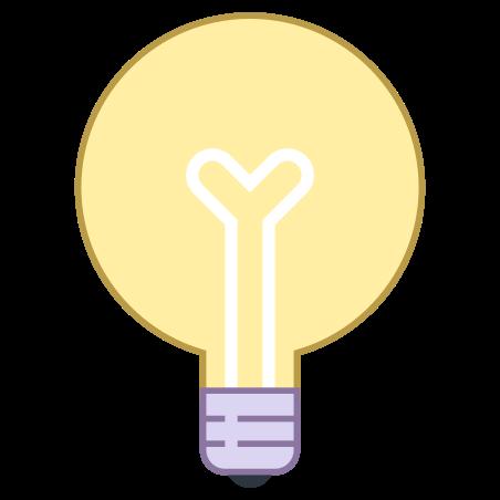 글로브 전구 icon