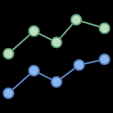 라인 차트 icon