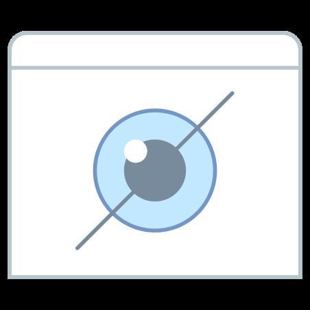 마크보기로 숨겨진 icon