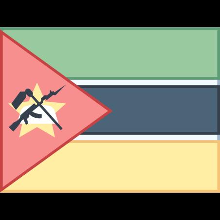 Mozambique Flag icon