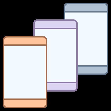 Smartphones icon