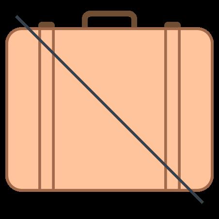 No Baggage icon