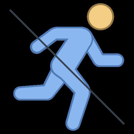 No Running icon