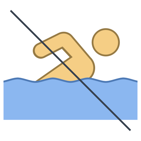 수영 금지 icon