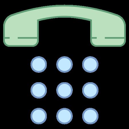 Номер Pad icon