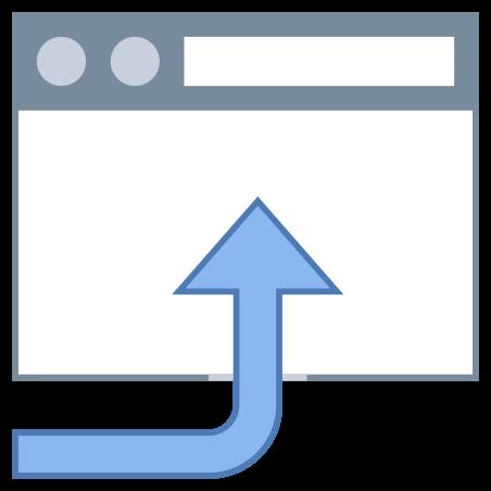 Abrir en el navegador icon