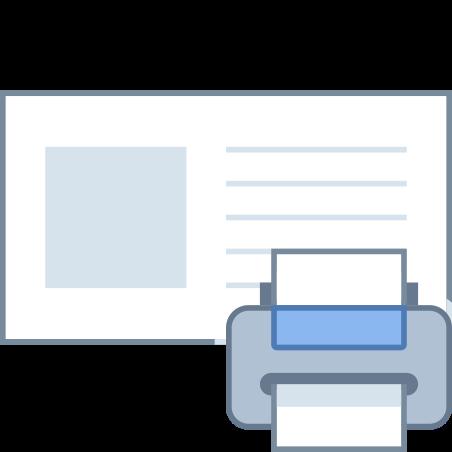 Print Address Label icon