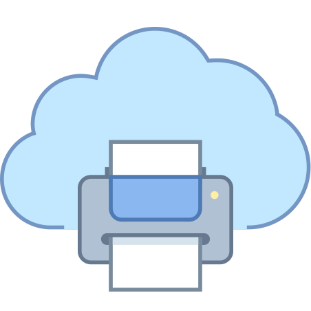 Print from Cloud icon in Office L