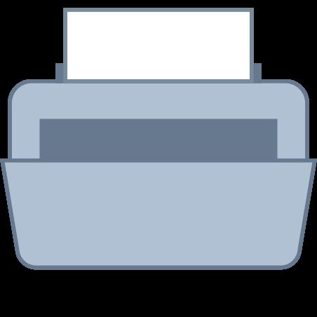 Printer icon in Office L