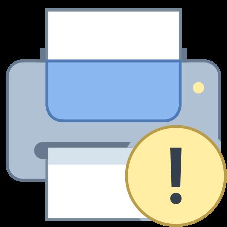 Printer Error icon